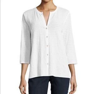 Eileen Fisher NWT Women's  Organic Cotton Top S/P